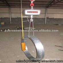 Galvanized Oval Wire 15x17