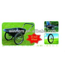 2 wheeler plastic tray garden wheelbarrow