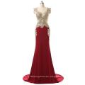 Popular Design Chiffon Skirt Halter Bridesmaid Dress