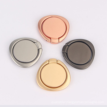 Newest Triangle Appearance Metal Ring Holder 360 degree rotating Ring Stand for Mobile Phone