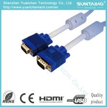 HD 15pinos macho para macho cabo VGA para PC