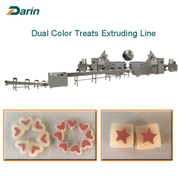 Twist Dog Treats Extruding Line