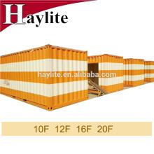 Contenedor ISO contenedor de 20 pies para el hogar con servicio personalizado a color