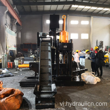 Nhôm Borings Filings Chippings Briquette Máy