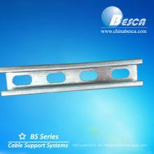 Canal en C galvanizado (UL, SGS, IEC y CE)