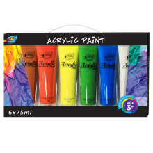 2017 hot selling alta luz não-tóxico de tinta acrílica