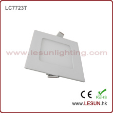 CE Approval 6W Square Slim LED Panel Lights/Flat Lamp LC7724t