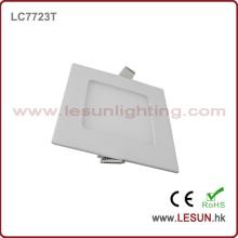 Luzes de painel magros quadradas do diodo emissor de luz da aprovação 6W do CE / lâmpada lisa LC7724t