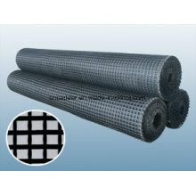Bitumen Coated Fiberglass Geogrid 50/50kn/M for Asphalt Reinforcement