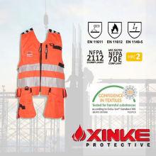 chaqueta de obrero de la construcción profesional de alto grado