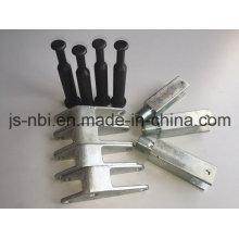 Combinación de ejes de aluminio para uso en construcción