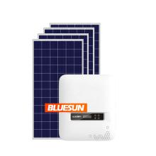 Bluesun 5kw on grid solar system 3kw 5kw 6kw solar power system 5kw home solar power system