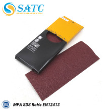 papel lijado para aplicaciones de electrodomésticos y piezas de máquinas