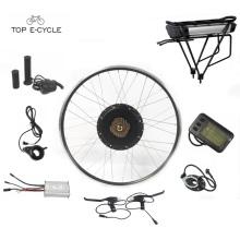 Diy fun 28inch roda traseira bicicleta elétrica convension kit / bicicleta kit motor elétrico