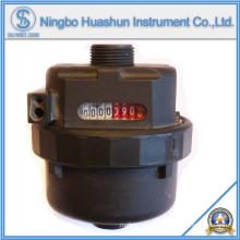 Мокрый тип Пластиковый объемный водомер (LXH-15S)