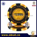 14G 3color Clay Personnaliser Design Sticker Poker Chip