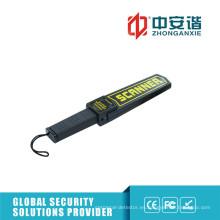 Detectores de metales de seguridad para la inspección de armas con LED de color Indicación