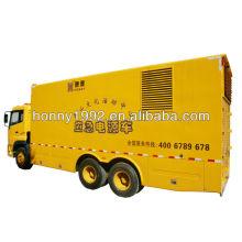 200kW generador eléctrico del carro de la rueda 4