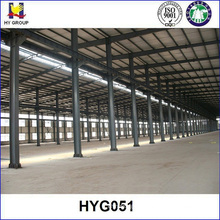 Prefabricated steel structure workshop design