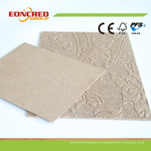 Dark Brown Colored Hardboard with Good Hardboard Price