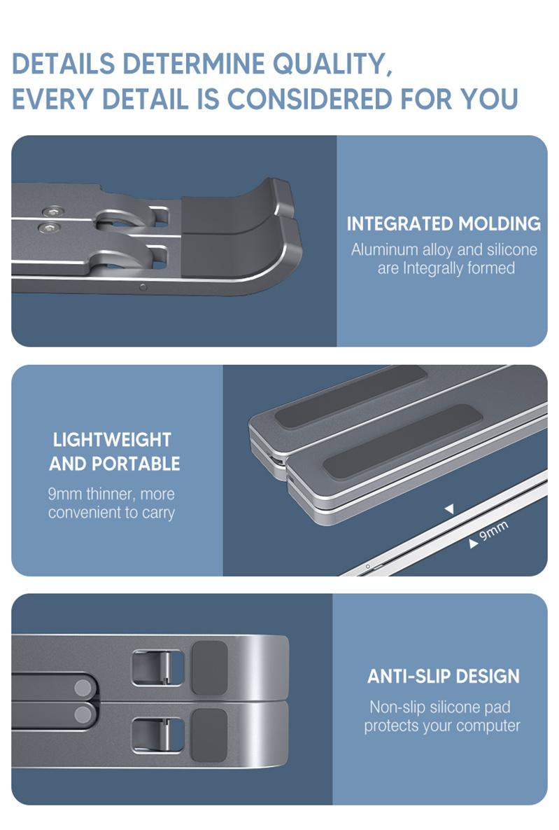 Design Aluminum Laptop Stand