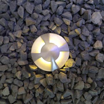 Four sides emitting LED Recessed Pool Light