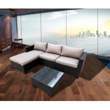 Sofá Lounge de mimbre al aire libre caña bistros