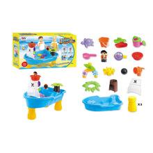 Novidade crianças plástico verão jogar conjunto brinquedos praia de areia (h1336160)