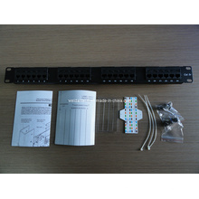 "1u 24port UTP Cat5e Patch Panel 19"" Inch (WD6A-001)"