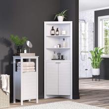 Modern Double Basin Bathroom Storage Cabinets