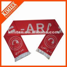 2015 оптовый шарф футбола полиэфира