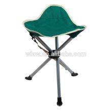 Três pernas de piquenique dobrável tamboretes triângulo pesca tamborete de caça 3 pernas cadeira
