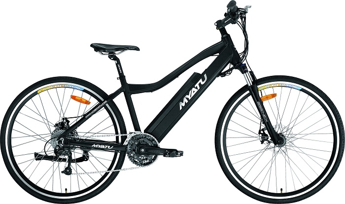 Middle Drive Mountain Electric Bike