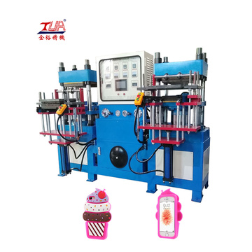 Low power consumption mobile phone cover making machine