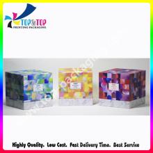 Luxury Printing Handmade Lid and Base Perfume Packaging Box
