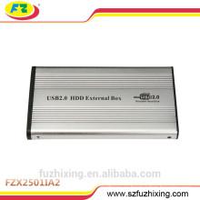 2.5 IDE Caja de aluminio HDD Caja USB 2.0 HDD