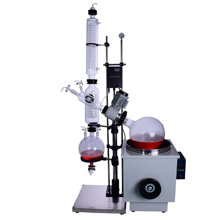 rotary evaporator with chiller