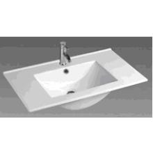 90e Bathroom Square Ceramic Cabinet Basin