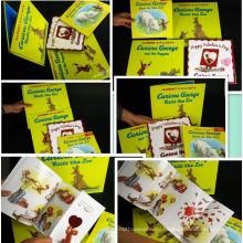 Полный Цвет Напечатал Мини-Дошкольных Детей Математике Изучение Книг