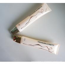 Long et mince Tube ovale plaquent Cap