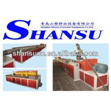 Máquina extrusora de WPC (PVC/PP/pó de madeira + PE)