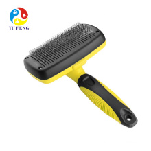 Pet Grooming Brush - Self Cleaning Slicker Brushes Best Shedding Tools for Grooming Cat Dog Long & Thick Hair Pet Grooming Brush - Self Cleaning Slicker Brushes Best Shedding Tools for Grooming Cat Dog Long & Thick Hair