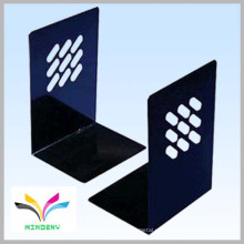 negro con recubrimiento de polvo smartable en forma de L contador libro de libros de metal