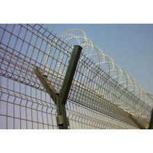 Hochwertiger galvanisierter Rasiermesser-Stacheldraht für Zaun