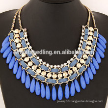 TOP SALE Fashion Design water drop infinity necklace