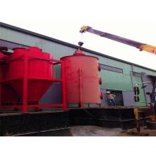 Máquina de tratamiento para estación de transferencia de basura para residuos sólidos / residuos urbanos / basura viva para máquina de energía