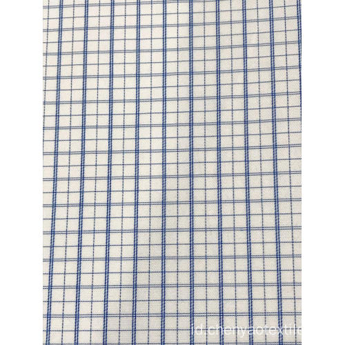 T / C (30% Cotton70% Polyester) Dobby Plaid Fabric