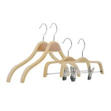 Natural Non Slip plywood hanger clothes laminated wooden Shirt Hangers