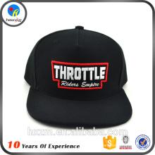 Chine Wholesale Custom Black Cheap Snapback Caps