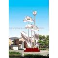 great fascination sculpture,stainless steel garden sculpture